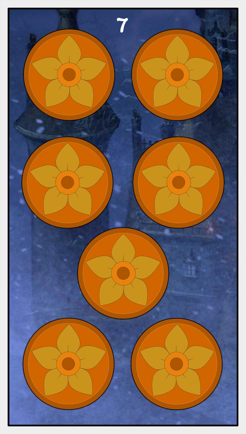 Dmorte Tarot Pentacles: 7