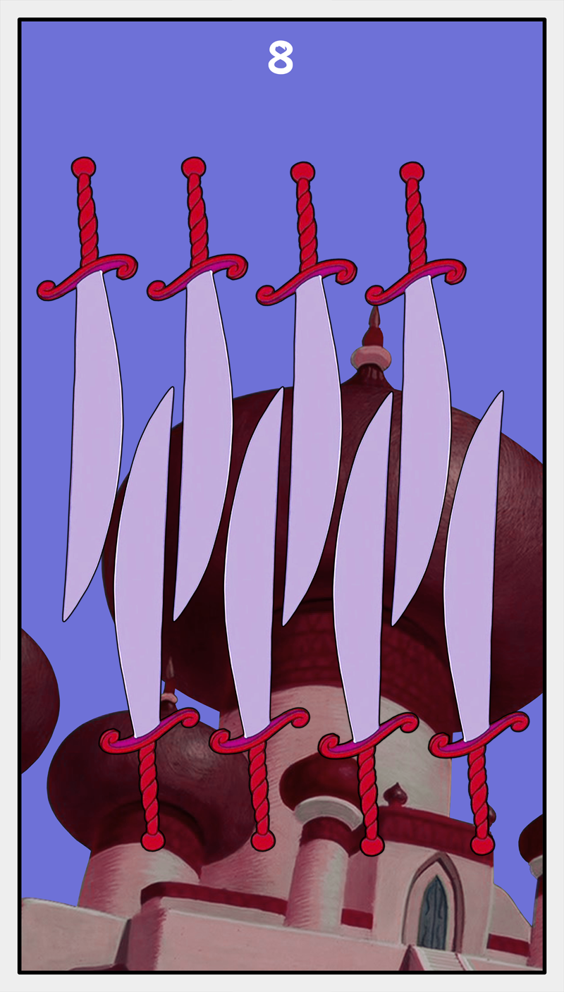 Dmorte Tarot Sword: 8