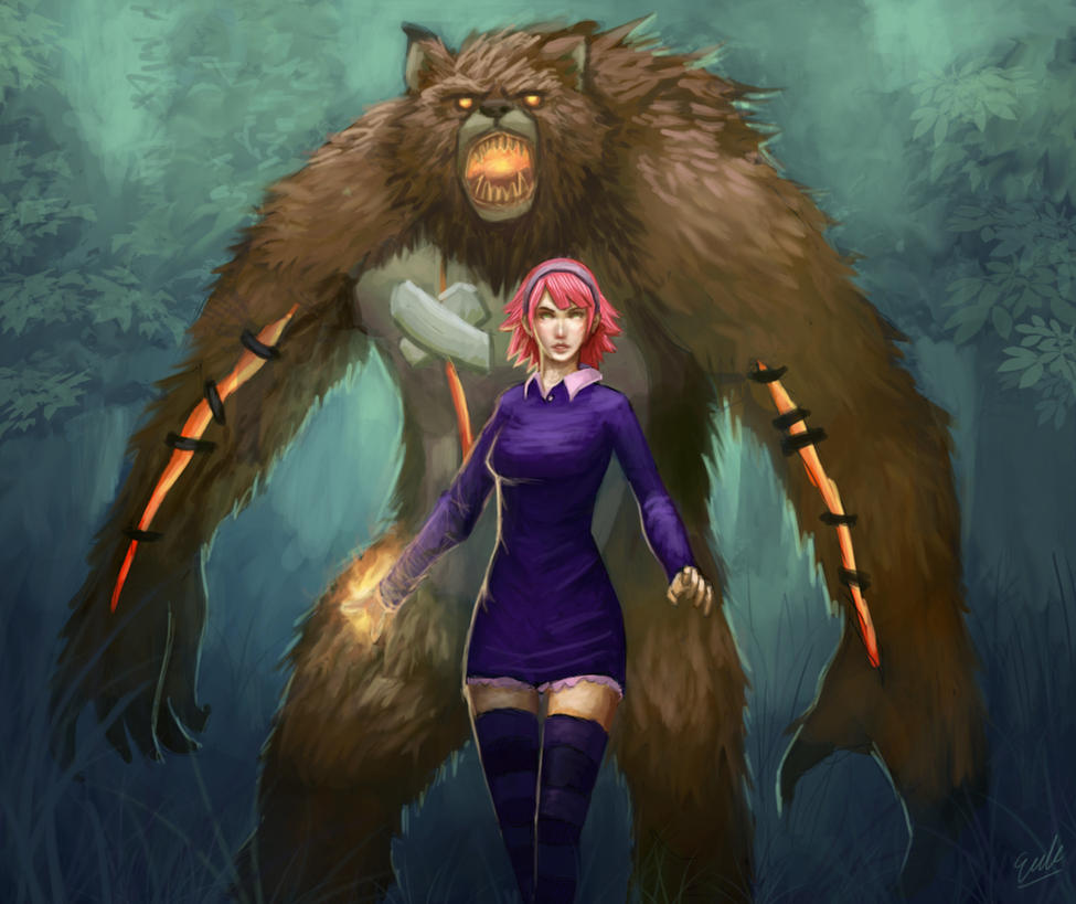 Adult Annie by erickefata