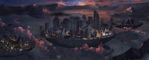Neo Night City by erickefata