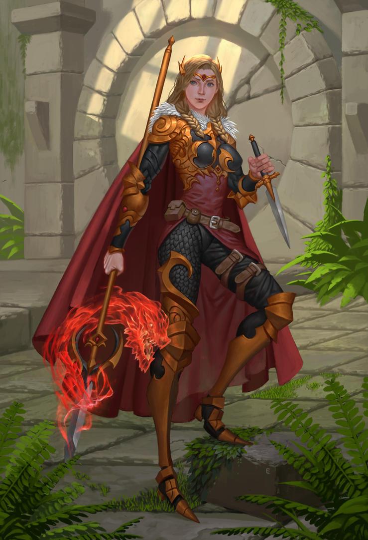 Dragonlance Svala by erickefata