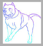 Blep lineart for sale