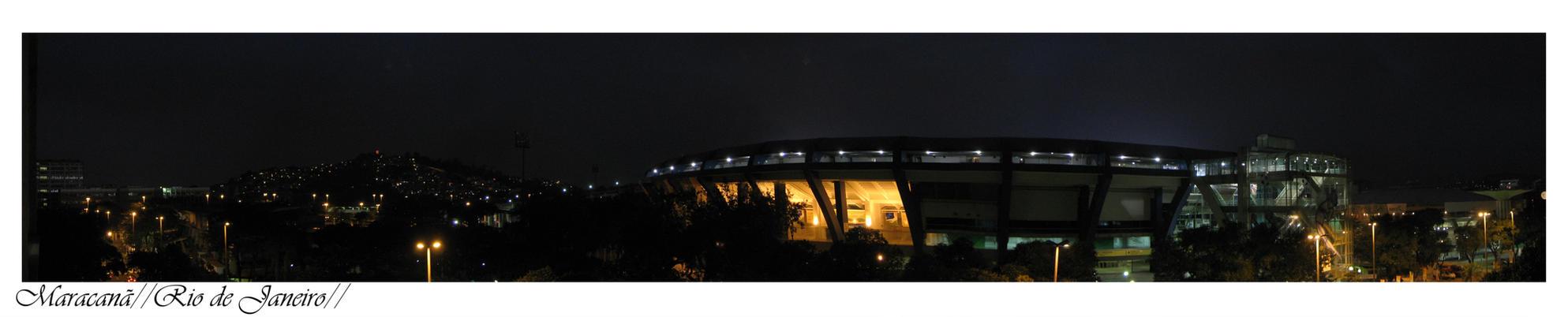 maracana at night by joaophelip