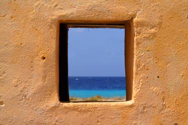 Slave hut ocean view... by RVeldhuyzen