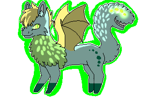 Dragon sona by minecraftfox