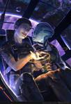 Mass Effect - Shepard + Liara