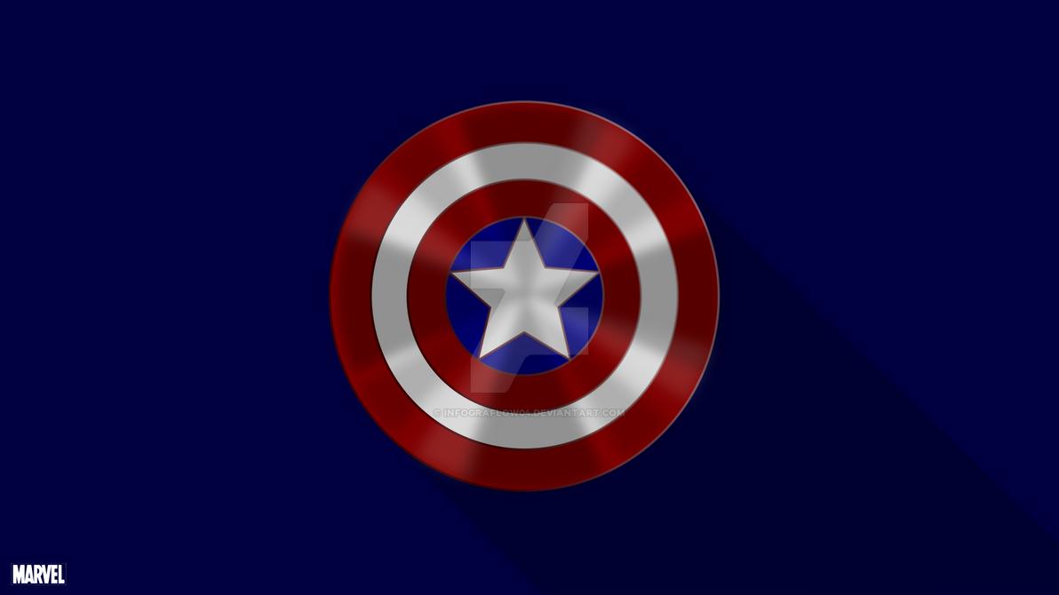 Captain America Shield Drawing: Captain America Shield By Infograflow04 On DeviantArt