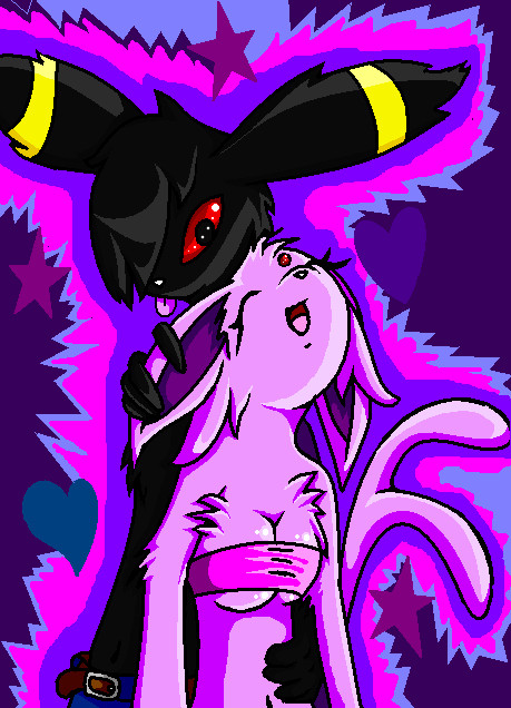 .+.espeon x umbreon.+. by Kristy-Lea on DeviantArt