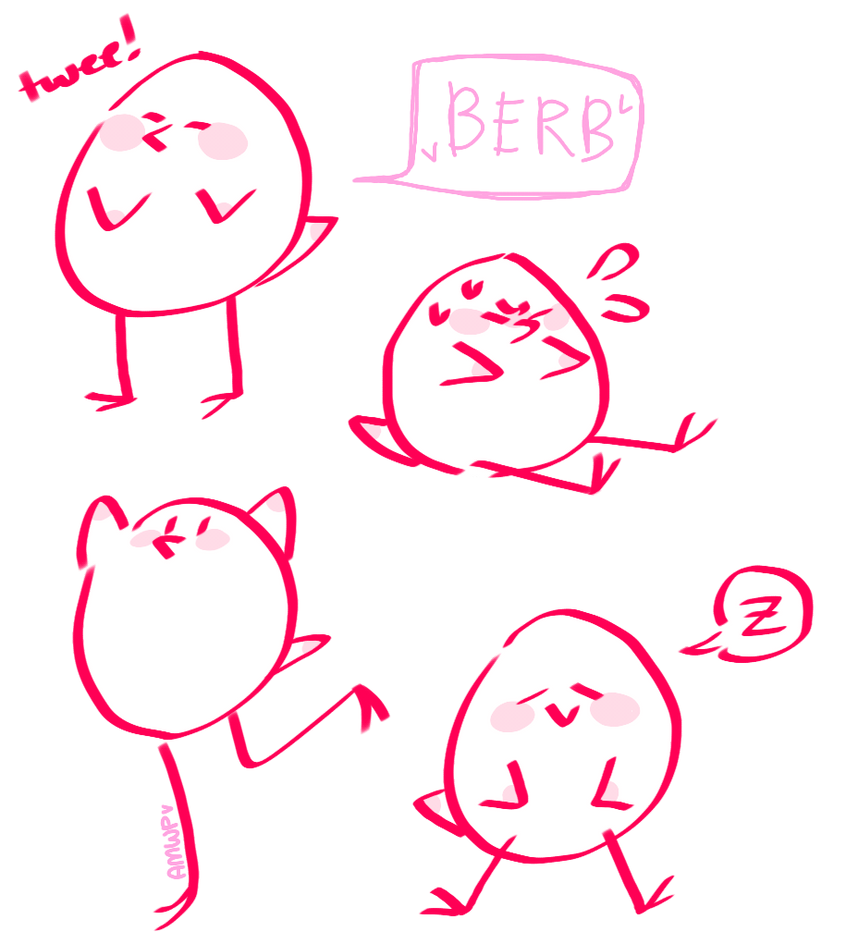 berb doodles by ManiacWithAPen