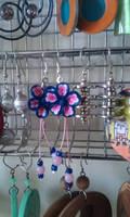 earrings: pinky girly by Margotka