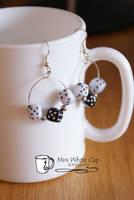 earrings: gambling hoops by Margotka