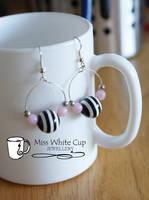 earrings: crazy hoops by Margotka