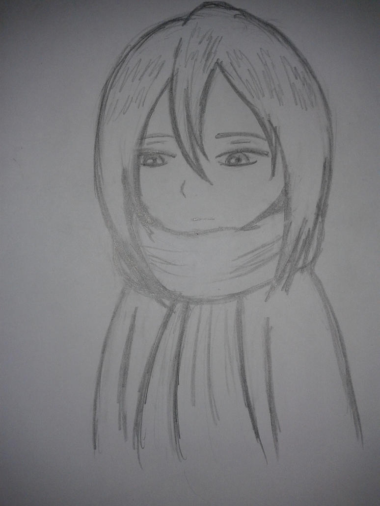 Mikasa sketch by SCarpy01