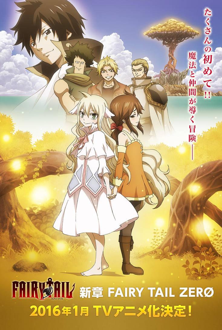 Fairy tail zero anime by redartz
