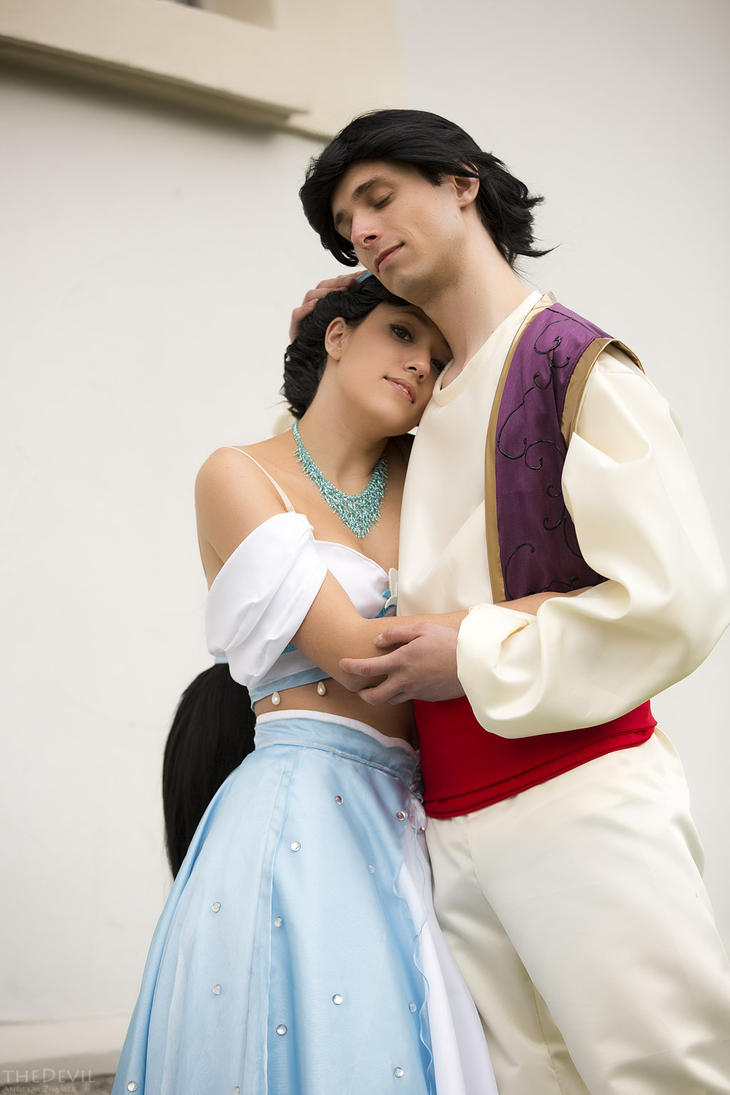 Aladdin and Jasmine - arent they cute by SweetLuminia