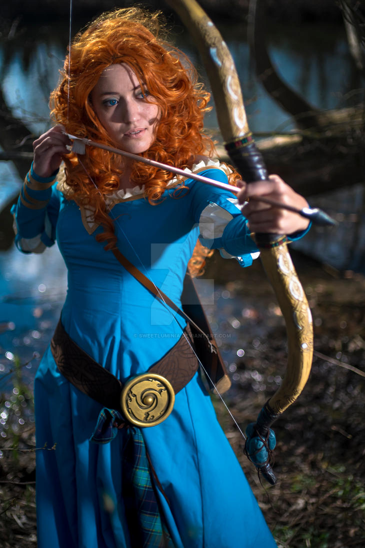 Merida by SweetLuminia