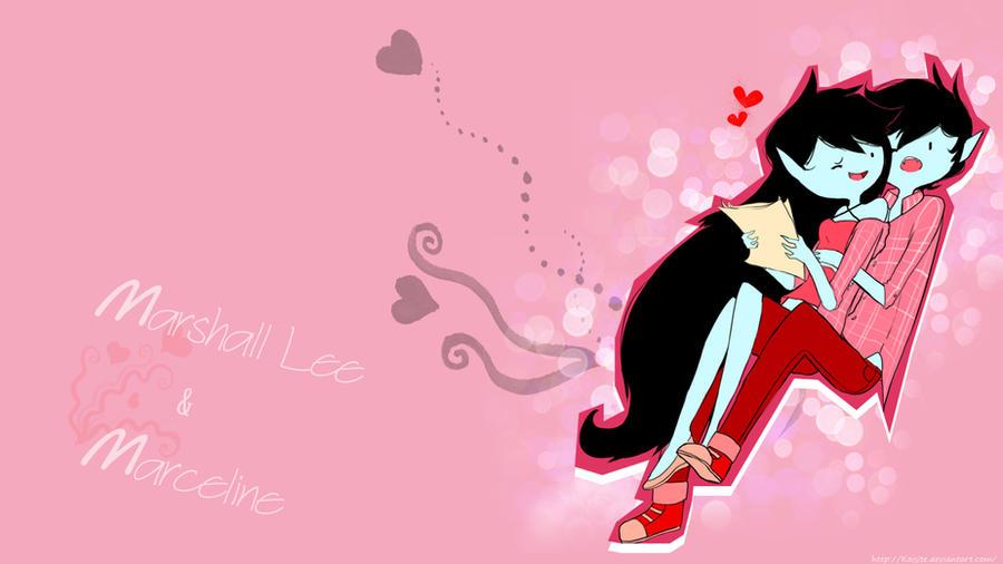Wallpaper Marshall Lee And Marceline By Koisite