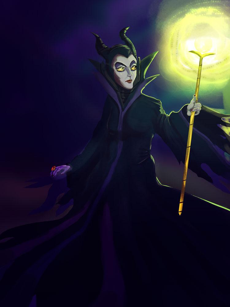 Maleficent by gabrielsilvart