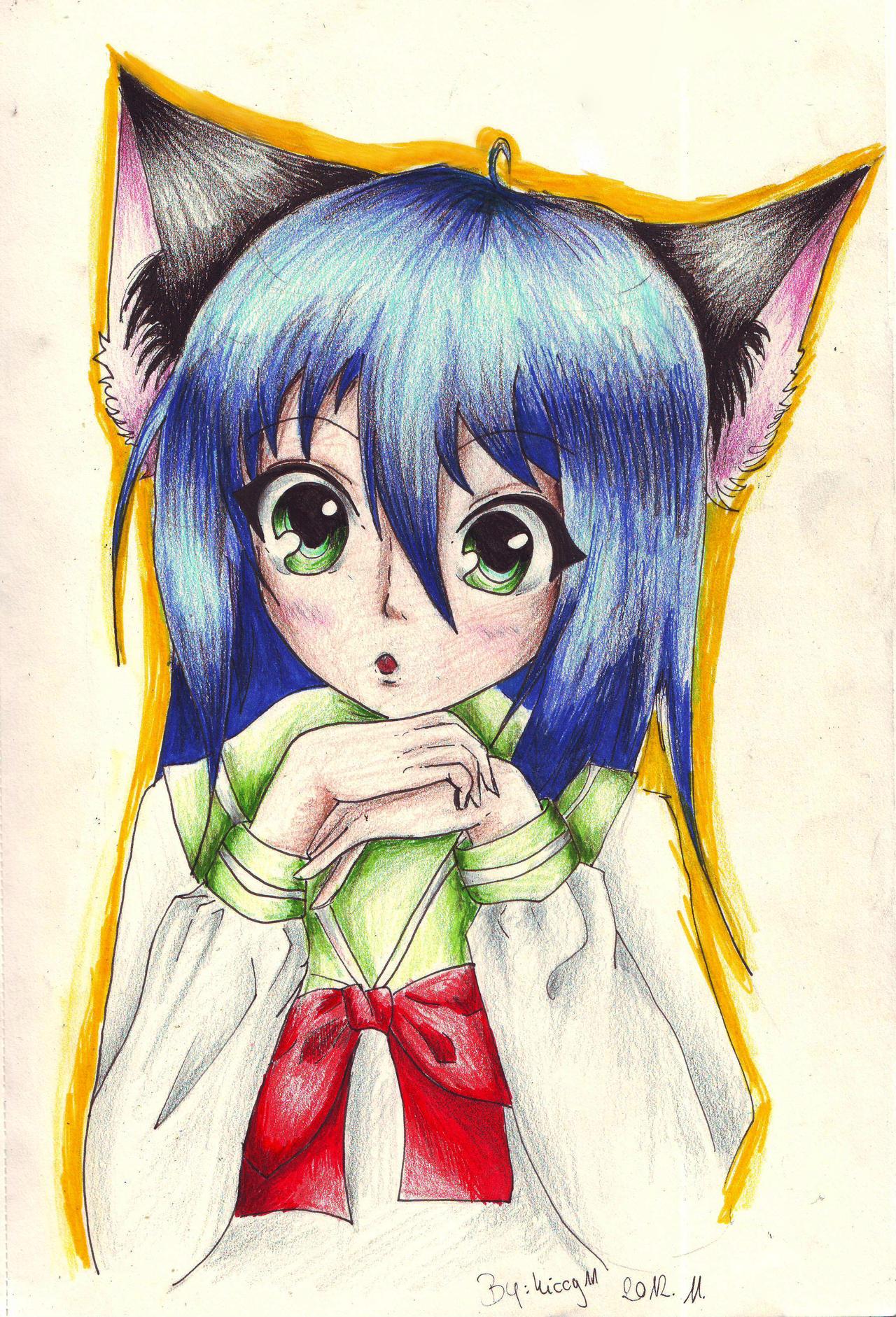 Neko-chan *-* by Kiccyke
