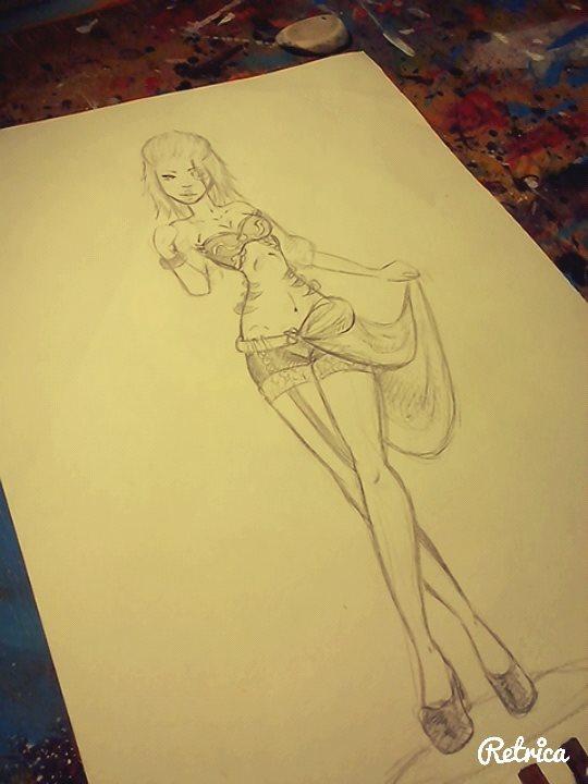 Sketch by Kiccyke