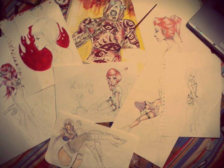 Any Drawings by Kiccyke