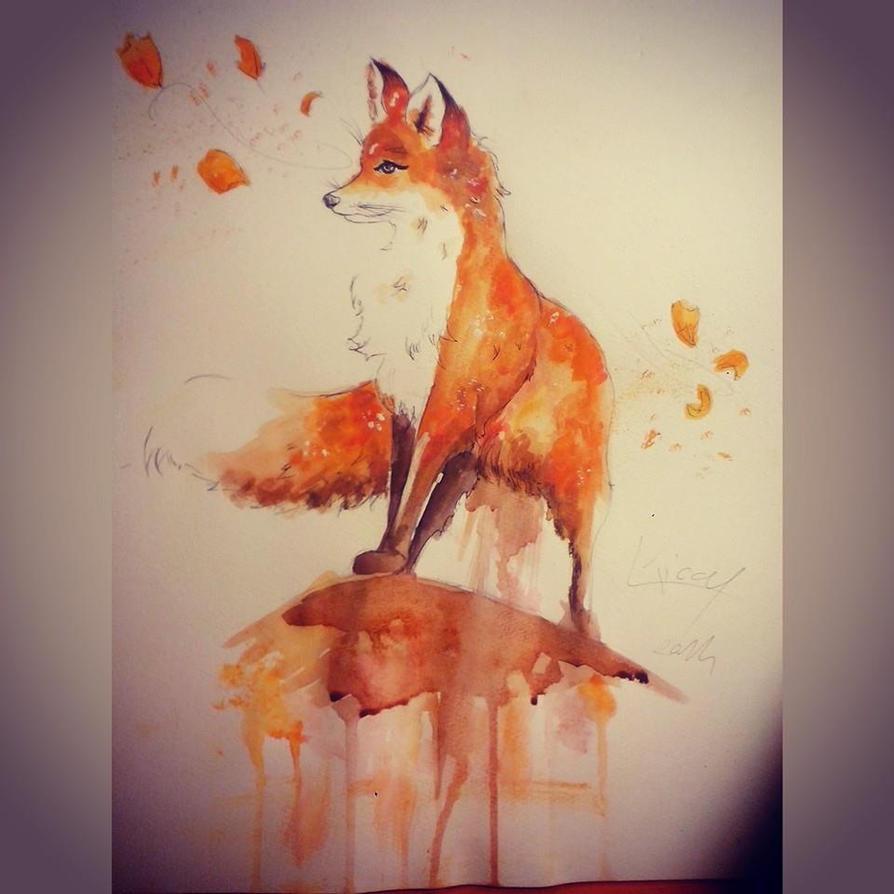 Fox by Kiccyke