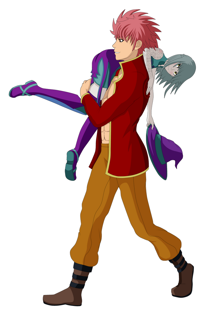 Stubborn Knight Carrying Stubborn Witch by Nasby321