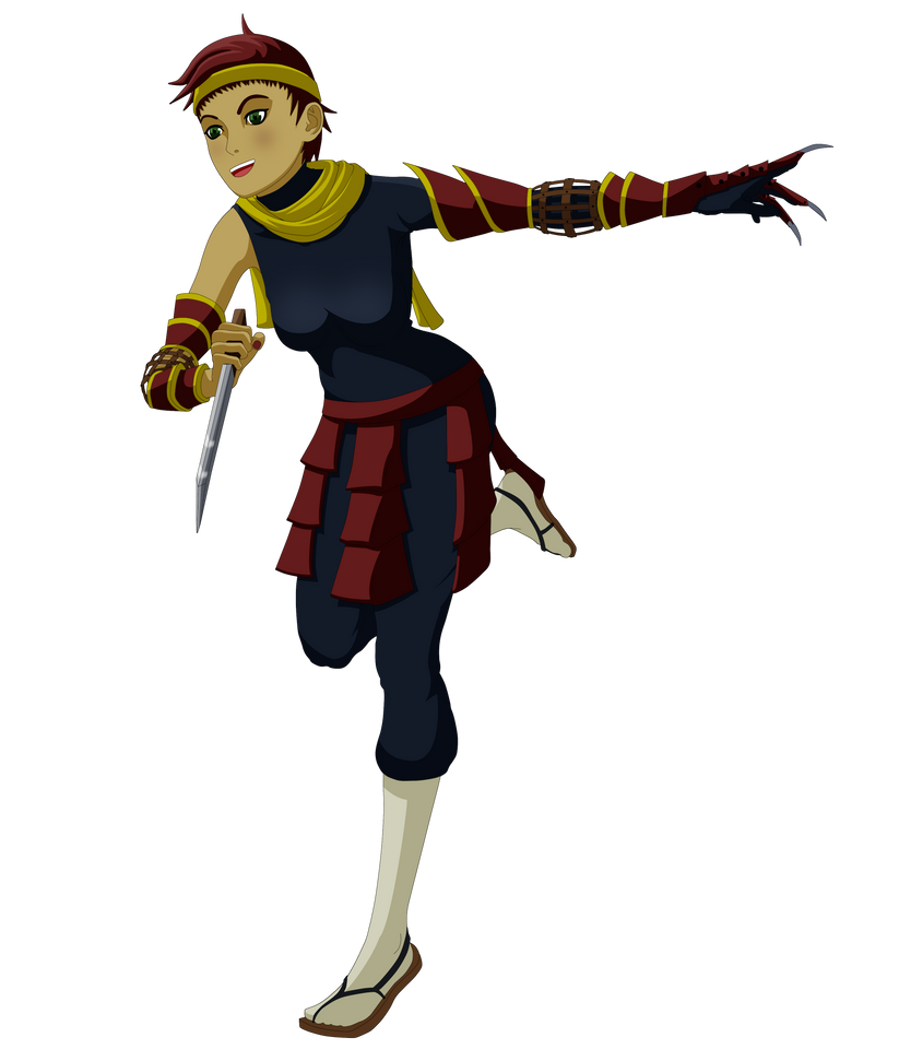 Annji Janin Runaway Ninja by Nasby321