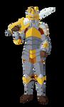Zack Dyne Armored