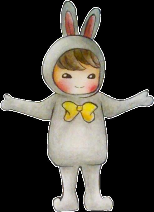 Bts Jeon Jungkook Bunny Costume By Scarletart99 On Deviantart