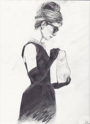 Audrey Hepburn by Amoschitto