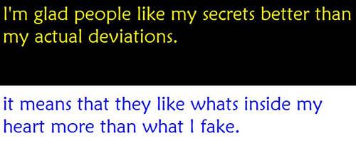 Secret. 3734 by DeviantArtSecret