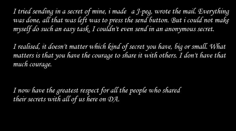 Secret. 13045 by DeviantArtSecret
