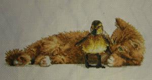 Furry Friends Cross Stitch