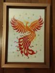 Phoenix cross stitch