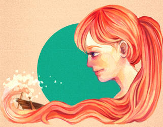 the sea by BleedRainbow
