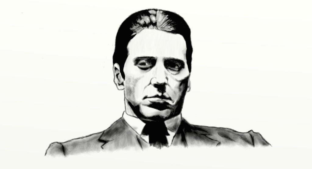Michael Corleone from The Godfather (Al Pacino) by ... Al Pacino Movies