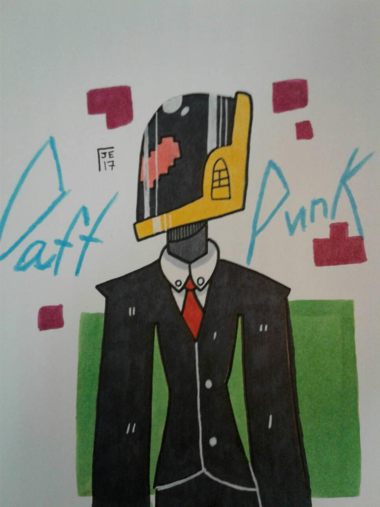DAFT PUNK~ by J-Comics