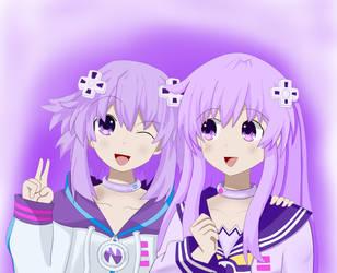 Planeptune Sisters by FlippingYerWorld