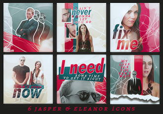 Fix me - Jasper and Eleanor Icons by Lost-in-Arts