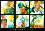 Tatyana Icon Set