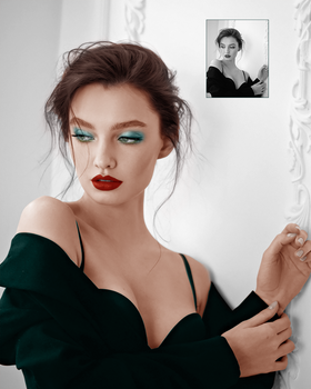 Here I am recoloring