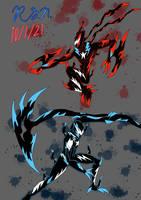 Alyx/Hazard and Ray/Inferno: Redraw Venomized