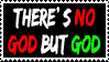 Stamp 02 - no God but God by FullWhiteMoon