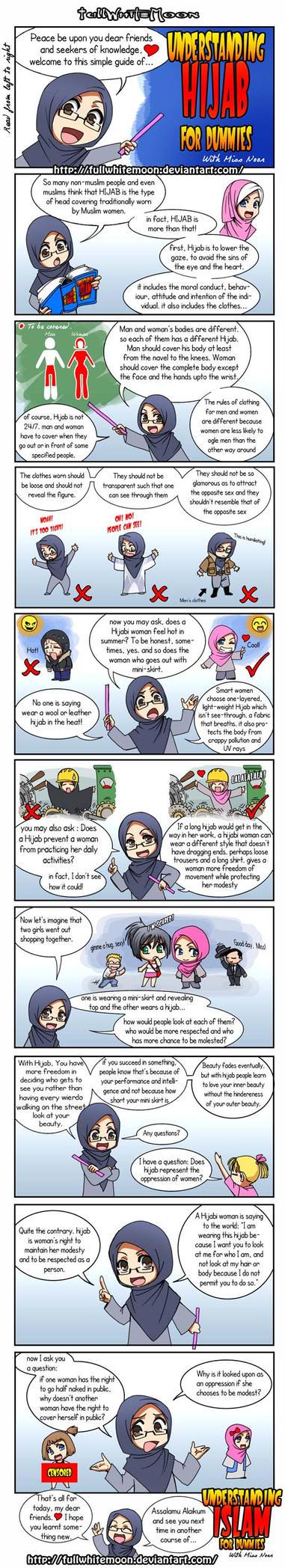 Understanding Hijab 4 dummies by FullWhiteMoon