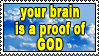 Stamp 31 - proof of GOD