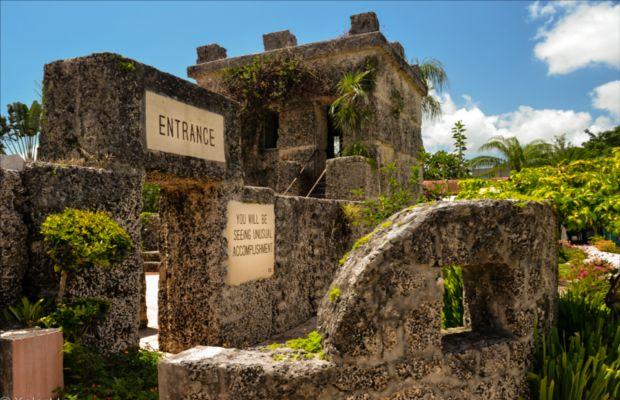 Coral castle: il giardino di pietra realizzato con blocchi simili a