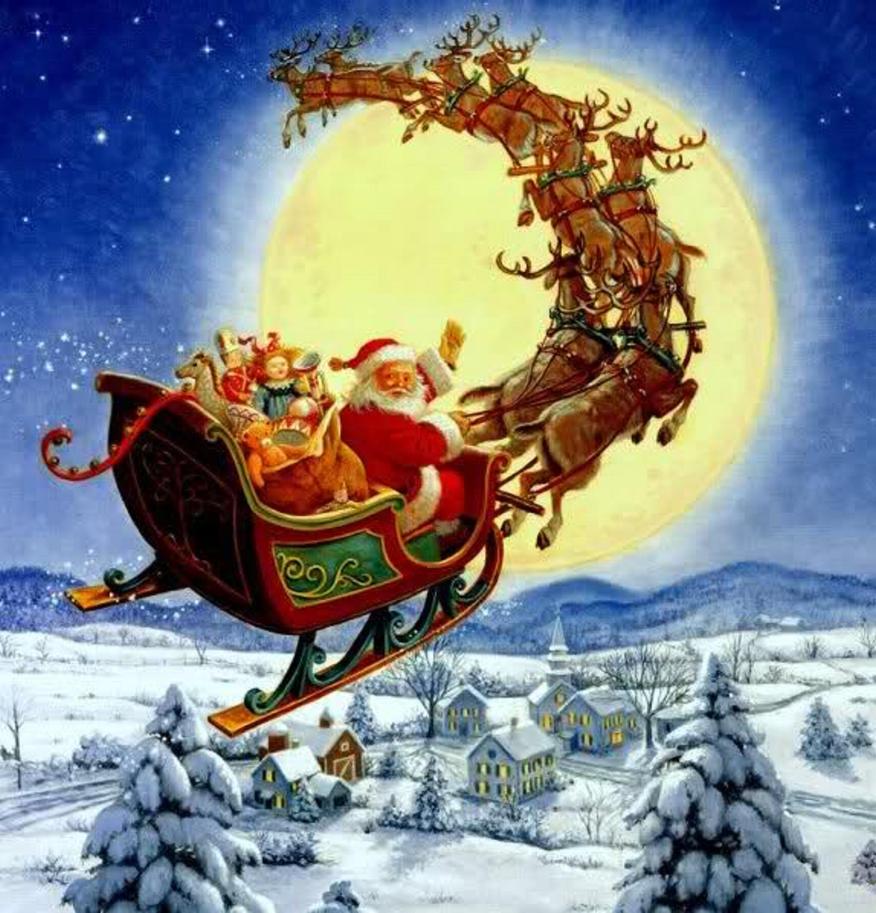 Immagini Di Babbo Natale Con La Slitta E Le Renne.Leggenda Sulle Renne Di Babbo Natale La Storia Di Rudolph