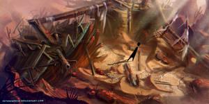 Desert Level Game Concept #002