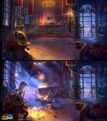 Nightmares from the Deep - Adventure   Office by PeterKmiecik